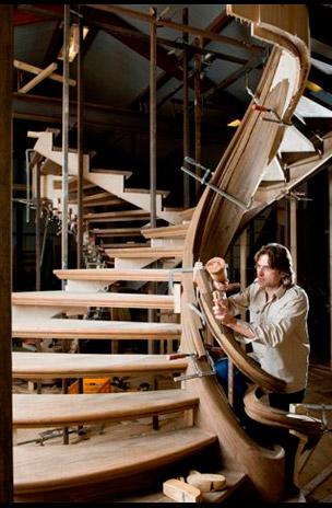 Trapart de trappenkunstenaar trappenmaker van - Trap ontwerpen ...